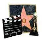 Hollywood Classic Set, trophy, Walk of fame, Clapboard - 5408