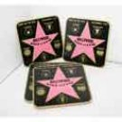 Walk of Fame Star Coasters - 3358