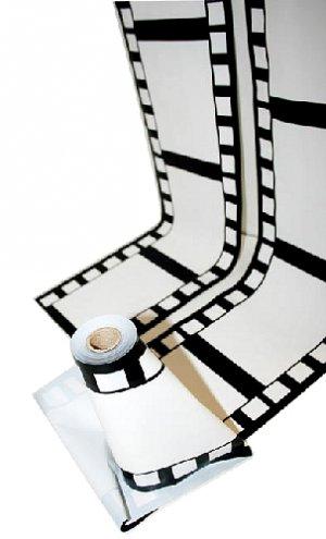 "100 Feet x 8"" of weatherproof decorative filmstrip - 6121"