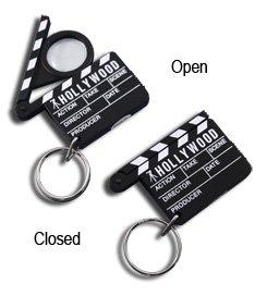 Hollywood Clapboard Keychain / Clapper / Slate - 3337
