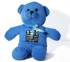 Blue Hollywood Teddy Bear - 6015