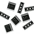 Movie Clapboard & Film Strip Confetti - 6071