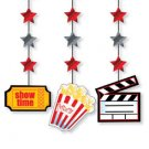 Small Movie Icon Hanging Cutouts - 6096