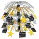 "Movie Set Clapboard Cascade Centerpiece 18"" - 7601"