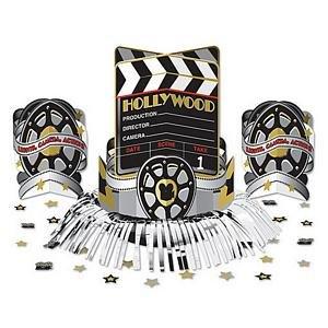 3 pcs Hollywood Movie Centerpiece Kit - 8373