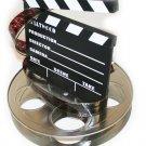 Hollywood Studio Clapboard & Reel Centerpiecec - 6057