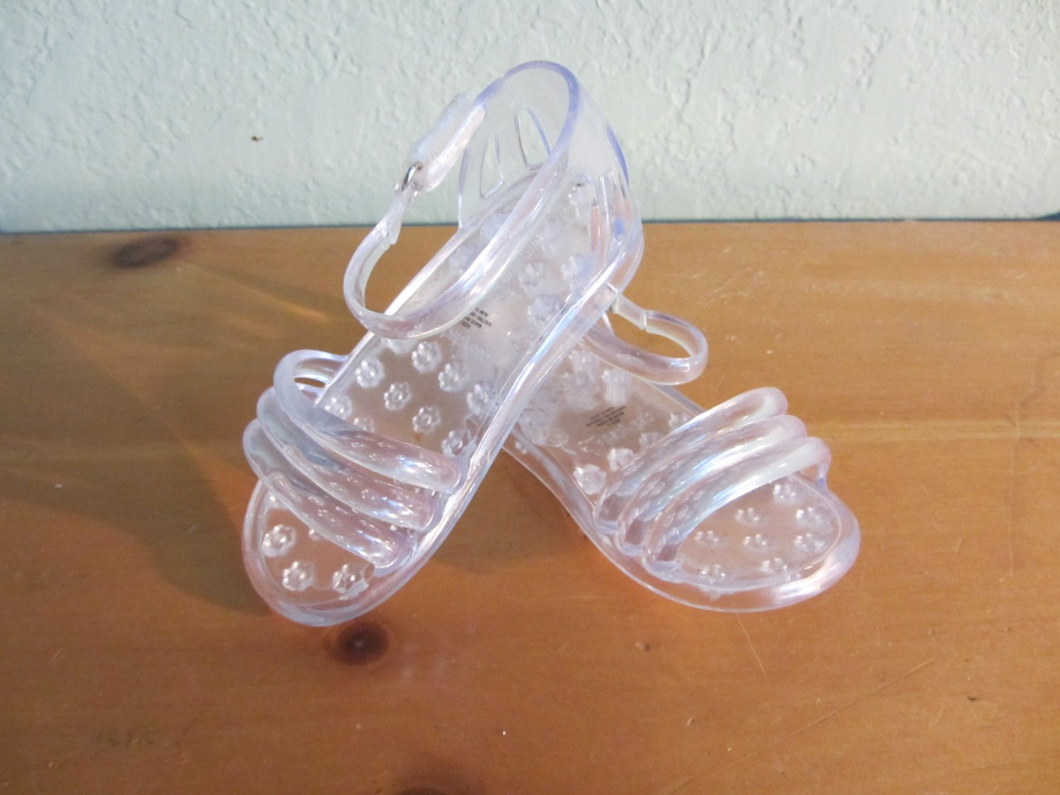 Clear Baby Gap Jelly Sandals