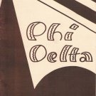 Phi Delta Fraternity Quarterly Booklet, THE CRESCENT, 1939