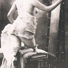 French Nude Postcard Reproduction