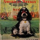 Vintage AMERICAN WEEKLY Newspaper Magazine, 1957