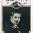 Original Victor Record Catalog for July, 1924