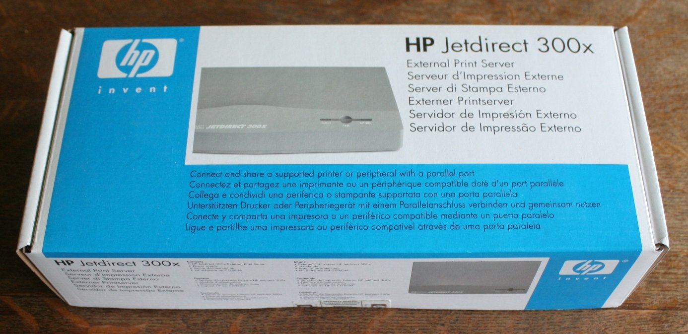 HP Jetdirect 300x External Print Server J3263G (open box)