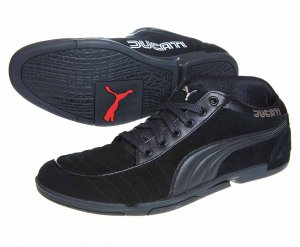 Puma 65cc Ducati Black (303518-01) Men's shoes, size 12