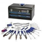 Kobalt 92-Piece Mechanics Tool Set with High Quality Metal Toolbox