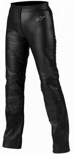 Alpinestars Stella Cat Tyla Leather Pants, Black, EU 38/US 2