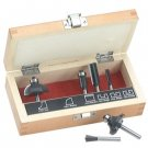 Craftsman 6 pc. Router Bit Set in a Wooden Box