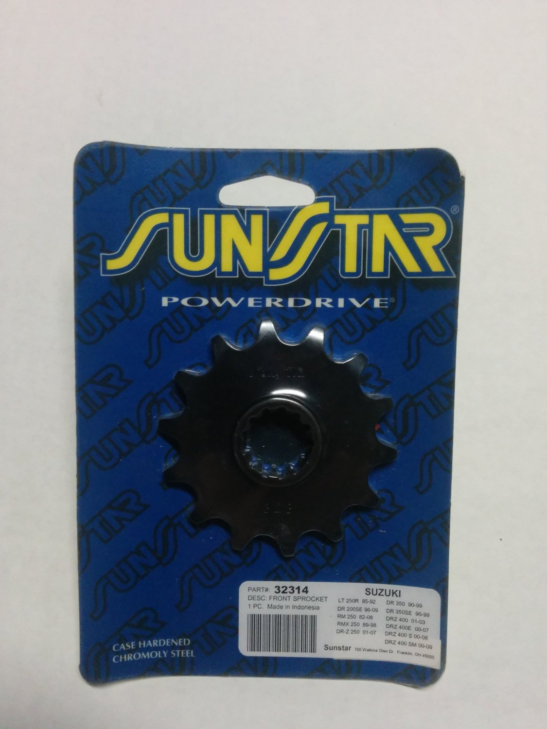 Sunstar Powerdrive Countershaft Sprockets 32314