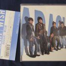 ARASHI SINGLE WISH JAPAN LIMITED EDITION WITH OBI USED HANA YORI DANGO HANADAN