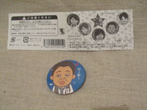 YAYA ARASHI OHNO SATOSHI JAPAN MINI CAPSULE TOY PIN