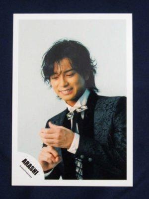 ARASHI 5X10 ALL THE BEST ALBUM MATSUMOTO JUN SHOP PHOTO