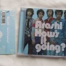 ARASHI ALBUM HOW'S IT GOING 2003 JAPAN FIRST PRESS LIMITED ED CD USED OBI JAPAN