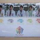 WAKUWAKU SCHOOL OF ARASHI 2013 GOOD SUBJECT BOOKMARK SET NEW WAKU WAKU JOHNNY