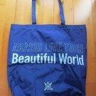 ARASHI BEAUTIFUL WORLD TOUR CONCERT GOOD 2011 SHOPPING BAG OHNO JUN AIBA NINO