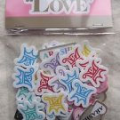 ARASHI 2013 LOVE TOUR CONCERT GOOD FUZZY STICKER NEW JAPAN JOHNNY
