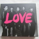 ARASHI ALBUM LOVE 2013 JAPAN FIRST LIMITED USED CD+DVD