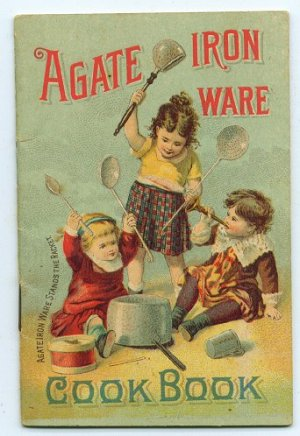 Early Agate Iron Ware ( Graniteware - Enamelware ) Cookbook and Catalog - ED501