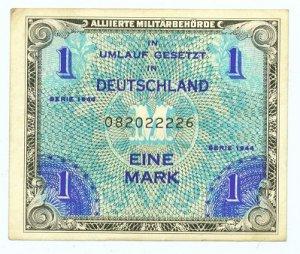 WW II Allied Military Currency - GERMANY - 1 Mark - ECA105