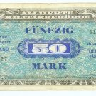 WW II Allied Military Currency - GERMANY - 50 Marks - ECA108