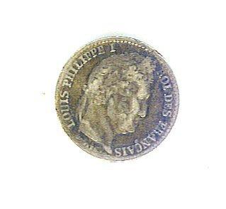 France - 1831-B Silver 1/4 Franc - ED601