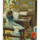 Trade Card - The Estey Phonorium - Estey Organ Works, Vermont - EG103