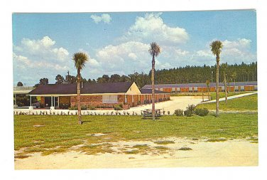 Postcard - Lake City, Florida - Lazy Lodge Motel - ED802