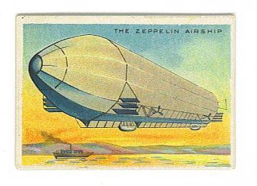 Milo Tobacco Advertising Card - Egyptian Cigarettes - ZEPPELIN Airship