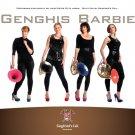 Genghis Barbie Poster