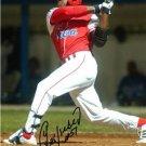 YOENIS CESPEDES SIGNED PHOTO 8X10 RP AUTOGRAPHED OAKLAND ATHLETICS CUBA BASEBALL