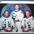 APOLLO 11 NEIL ARMSTRONG MICHAEL COLLINS & BUZZ ALDRIN SIGNED PHOTO RP AUTOGRAPH