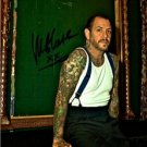 SOCIAL DISTORTION MIKE NESS SIGNED PHOTO 8X10 RP AUTOGRAPHED PUNK ROCK