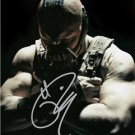 "TOM HARDY "" BANE "" SIGNED PHOTO 8X10 RP AUTOGRAPHED DARK KNIGHT RISES *"
