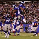 VICTOR CRUZ HAKEEM NICKS SIGNED PHOTO 8X10 RP AUTOGRAPHED NEW YORK GIANTS