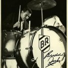 BUDDY RICH SIGNED PHOTO 8X10 RP AUTOGRAPHED DRUMMER