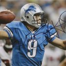 DETROIT MATTHEW STAFFORD SIGNED PHOTO 8X10 RP AUTO LIONS