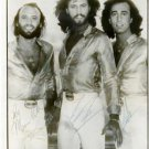 THE BEE GEES BAND GROUP SIGNED PHOTO 8X10 AUTO RP AUTOGRAPHED ROBIN GIBB