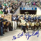 COACH BRIAN KELLY SIGNED PHOTO 8X10 RP AUTOGRAPHED NOTRE DAME FIGHTING IRISH !