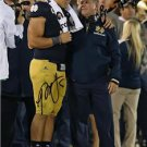 BRIAN KELLY & MANTI TE'O DUAL SIGNED PHOTO 8X10 RP AUTOGRAPHED NOTRE DAME