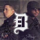 "BAD MEETS EVIL SLIM SHADY ROYCE DA 5'9"" SIGNED PHOTO 8X10 RP RAP EMINEM"