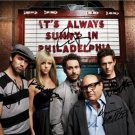 IT'S ALWAYS SUNNY IN PHILADELPHIA SIGNED PHOTO ** 8X10 RP AUTOGRAPHED