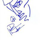 DAVE MATTHEWS SIGNED ART SKETCH 8X10 RP FACE DRAWING WITH AUTOGRAPH